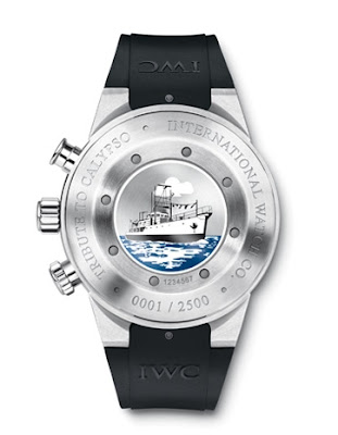 Montre IWC Aquatimer Chronographe Cousteau Divers
