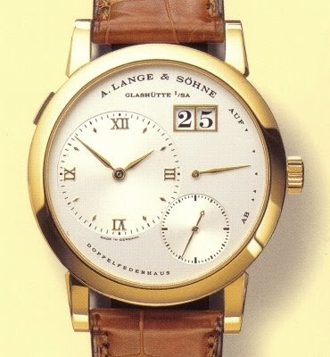 Montre A. Lange &amp; Shne Lange 1
