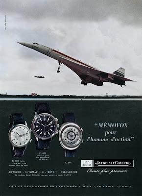 Pub Jaeger Lecoultre Memovox (1969-1970)