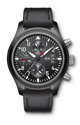 IWC montre d'aviateur Chronographe Top Gun