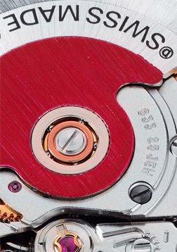 Montre Oris Rotor Rouge