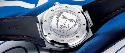 Montre IWC Ingenieur édition Zinedine Zidane dos