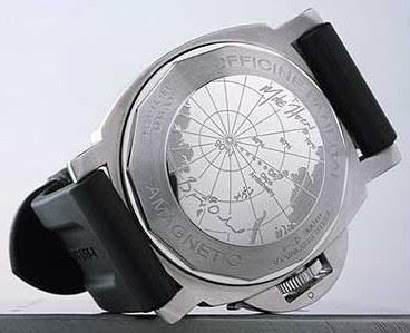 Montre Panerai Luminor North Pole GMT Dos