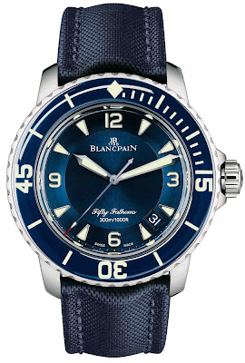 Montre Blancpain Fifty Fathoms Bleu Océanique