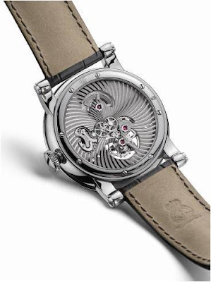 Montre Arnold & Son Sir John Tourbillon calibre A1767