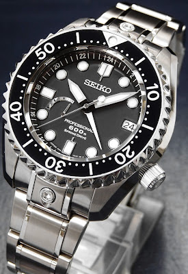 Montre Seiko MarineMaster Professional 600M Diver Spring Drive référence SBDB001