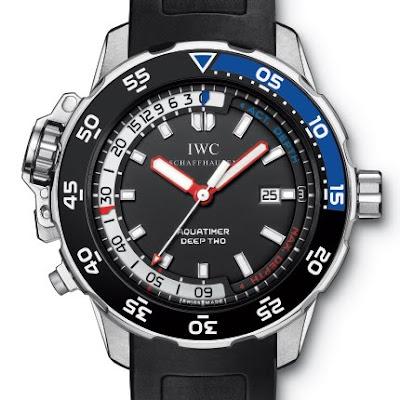 recherche info sur montre profondimetre mécanique Montre+IWC+Aquatimer+Deep+Two+reference+IW354702