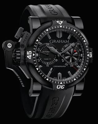 Montre Graham Chronofighter Oversize Diver Deep Black (réference 2OVEB.B38A)
