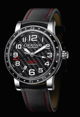 Montre Graham Silverstone Time Zone référence 2TZAS.B02A