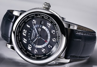 Montre Montblanc Star World Time GMT Automatic référence 106464