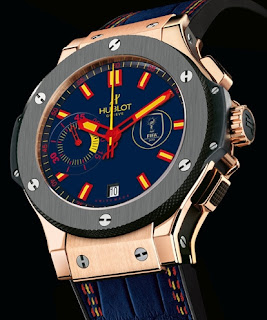 Montre Hublot Big Bang World Cup Winner&#8217;s Watch - quipe d'Espagne - Vainqueur de la Coupe du Monde de Football 2010