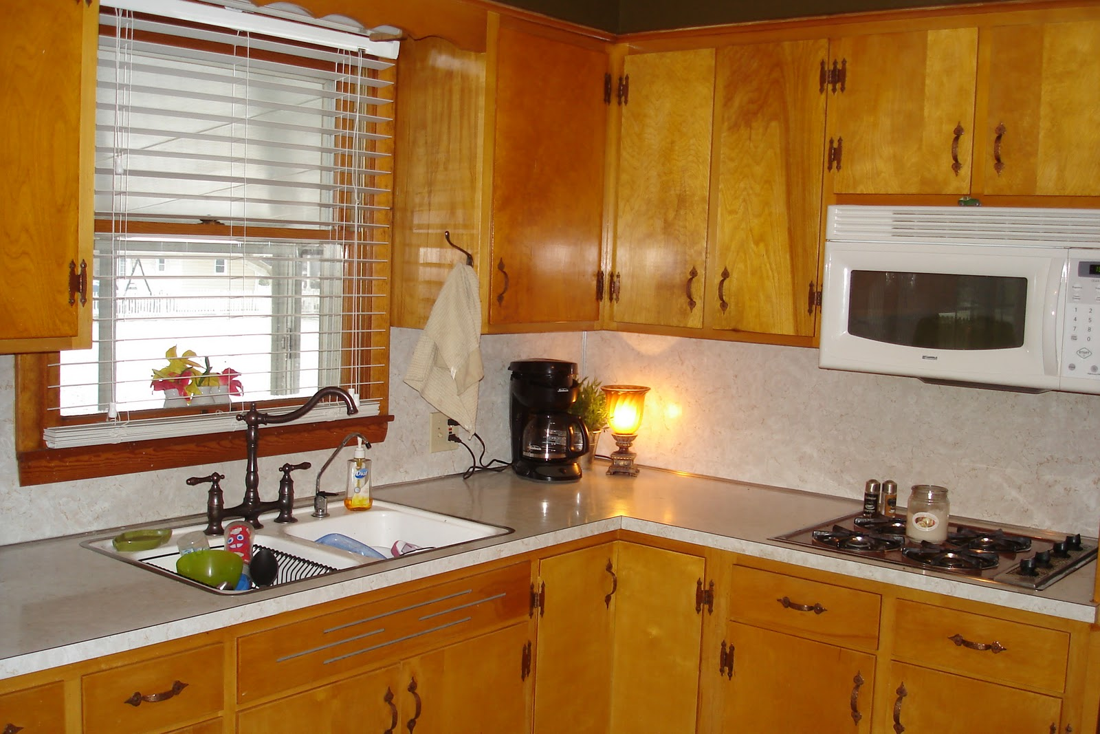 19 inexpensive ways to fix up your kitchen photos huffpost for Kitchen cabinets for cheap