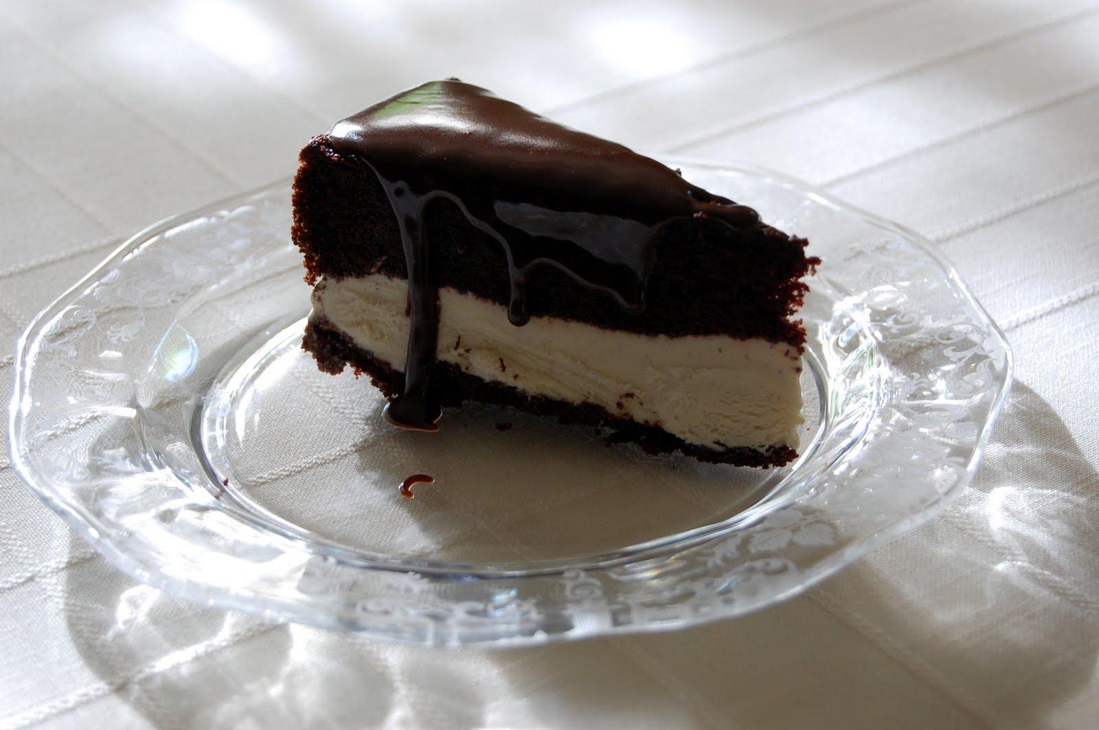 *: Chocolate Ice Cream Cake