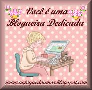 Selinho Blogeira Dedicada!