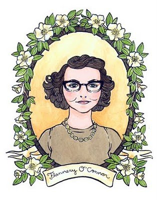 resurrection and rebirth flannery o'connor's Under lining the fact that flannery o'connor's art does not shy from reckoning   destruction and the power of rebirth, dwell side by side the divine force which.