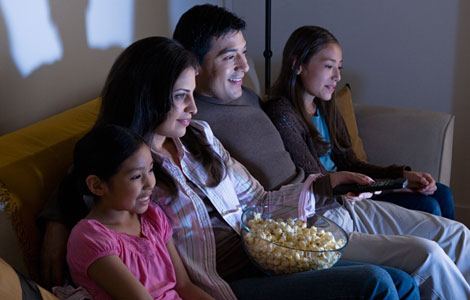 Today Filipino Families Would Usually Watch Movies Or Shows Together