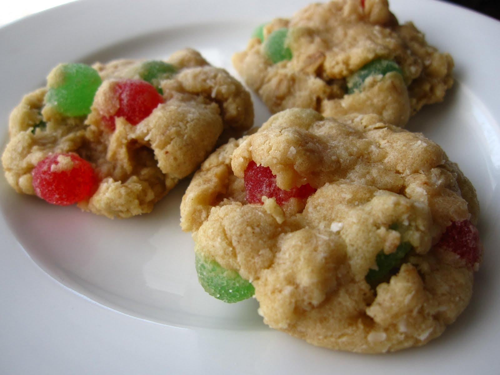 Fanksgiving Grandmas Gumdrop Cookies