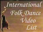 International Folk Dance Video List