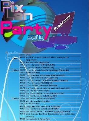 Pix Lan Party 2010 Programa