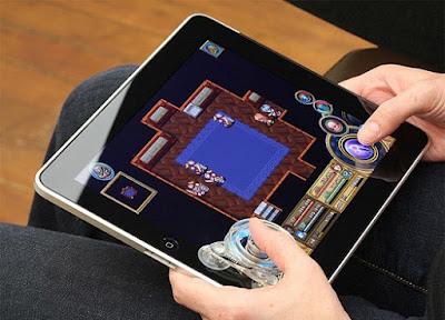 Fling Joystick para iPad, atractivo dispositivo para jugadores