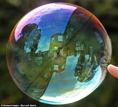 super slow motion picture bubble 2