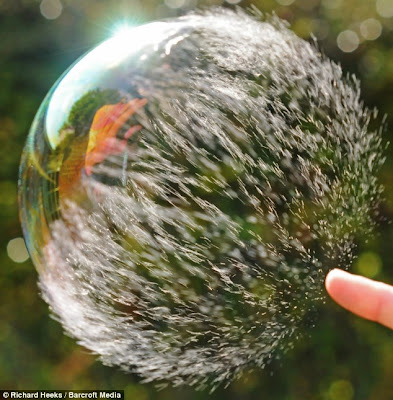 super slow motion picture bubble 4
