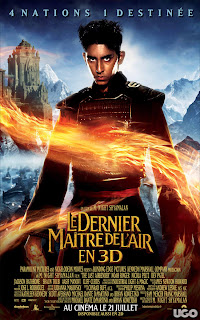 Poster Film 'The Last Airbender'