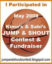 Kimo & Sabi's Jump & Shout Contest & Fundraiser