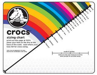 Kaffeeklatchshopping: How to Get Your Crocs & Shoe Size
