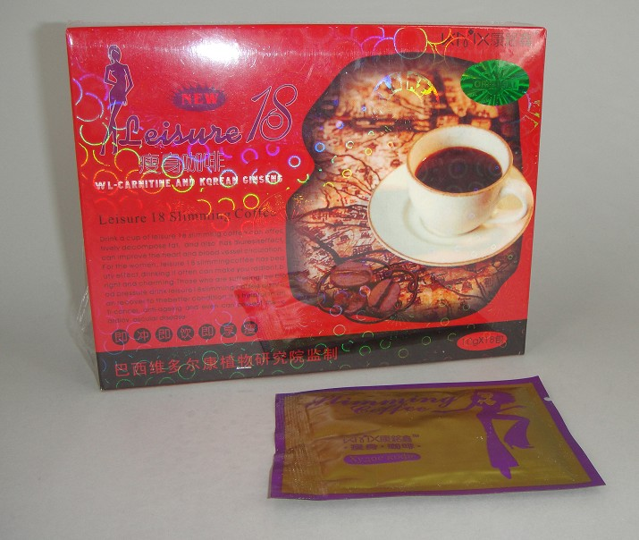 Slimming Products: LEISURE 18 SLIMMING COFFEE Pampanga