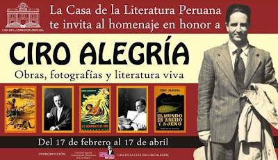 Casa barbieri homenaje a ciro alegr a en la casa de la literatura peruana - La casa de la alegria ...
