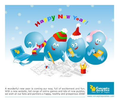 Happy, healthy and prosperous 2008 from Conceptis!
