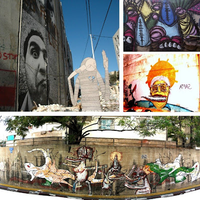 International Street Artists Add (More) Multicultural Sauce To Israeli Society - Collection 1