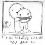 O caminho faz-se sorrindo...