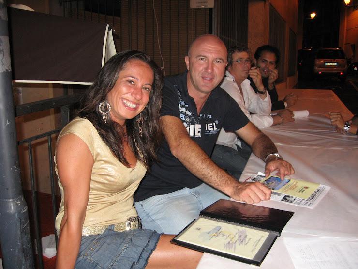 sabato 6 settembre 2008 NOTTE BIANCA di SANREMO amici di Sergio PREVOSTO in Via XX settembre