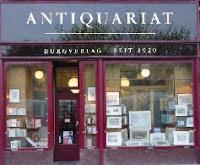 Antiquariat Burgverlag bookstore Vienna