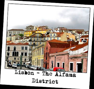Alfama Districh Lisbon