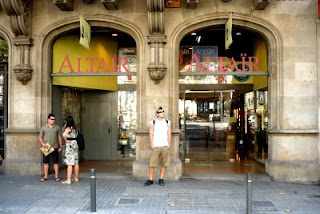 Altair travel bookshop Barcelona