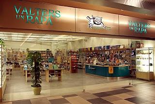 Valters un Rapa bookstore