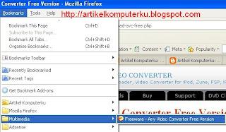 Uji Bookmark Firefox