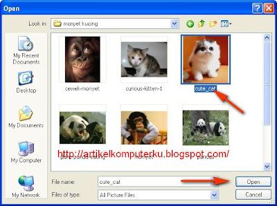 Cara edit gambar untuk kartu elektronik (e-card)