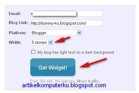 Memasang artikel terkait bergambar (related post bergambar) | Artikel