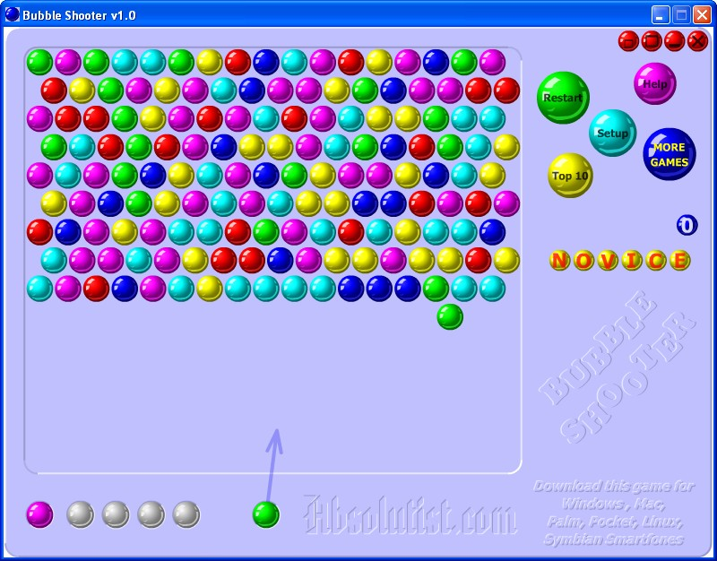 Download game bubble shooter (freeware/gratis)