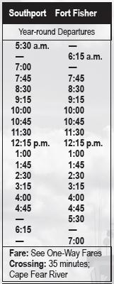 Ferry Schedule