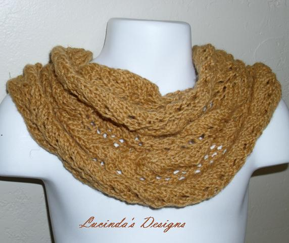 Louise Knits: Easy Cowl Pattern - knit today