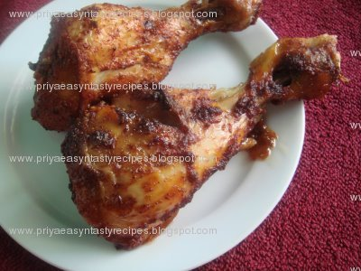 Priya's Versatile Recipes: Chicken 65