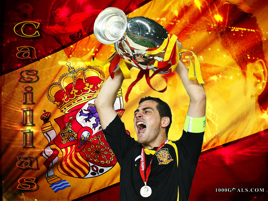 IKER CASILLAS  SAVER OF SPAIN