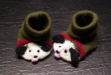 Bow Wow Baby Booties