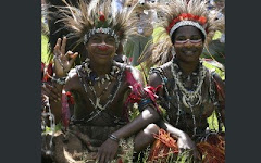 Young warriors, Papua New Guinea