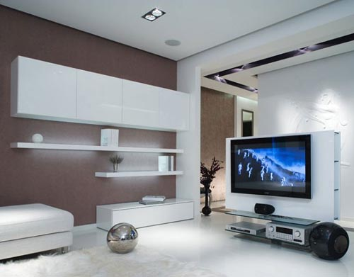 Interior Design Looks Simple But Luxuriou